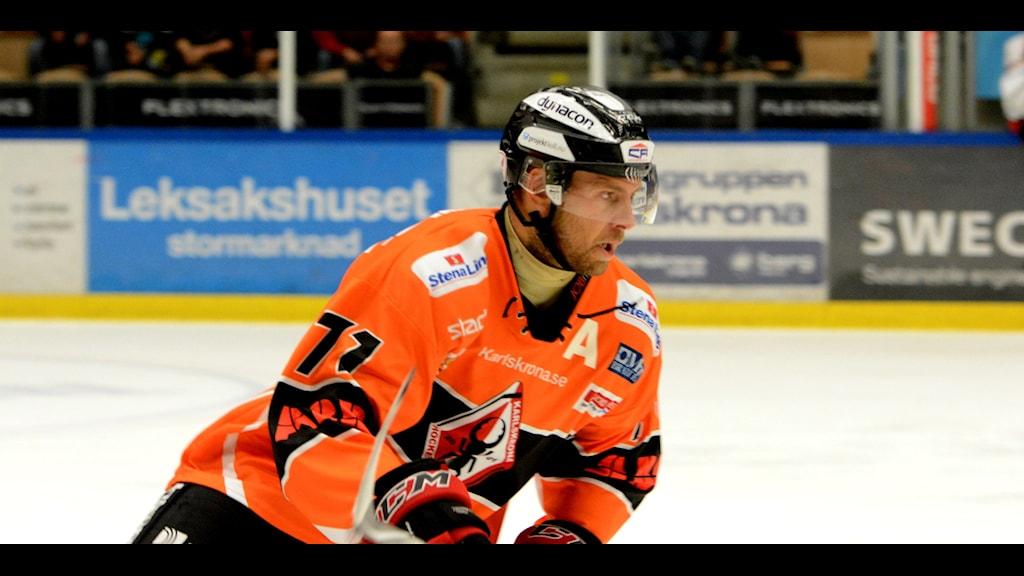 Niklas Lihagen i KHK, foto: Oscar Anderberg