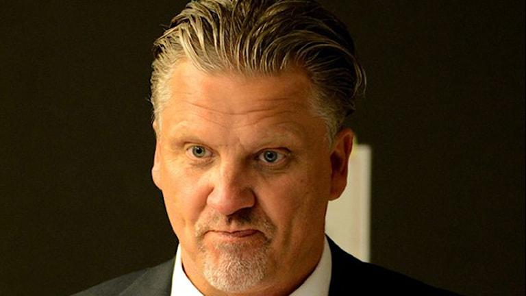 Pelle Hånberg, tränare i Karlskrona HK, KHK. Foto: Oscar Anderberg