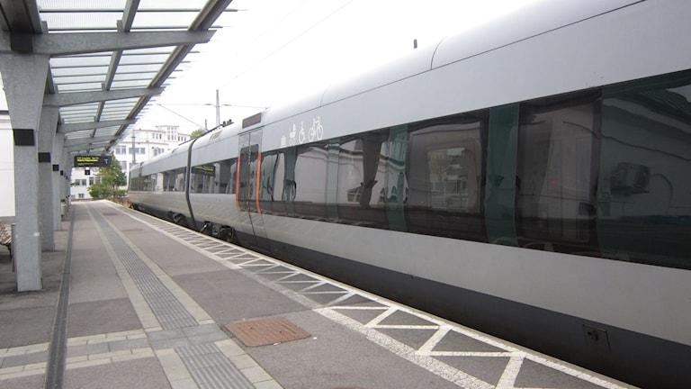 Karlskrona tåg järnvägsstation spår