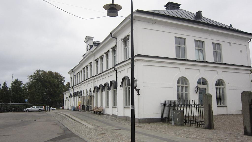 Karlskrona tåg järnvägsstation. Foto: Carina Melin/SR