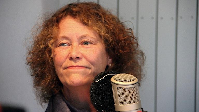 Agnes Lindeberg som är chef för ungdomsmottagningen i Karlskrona. Foto: Stina Linde/Sveriges Radio