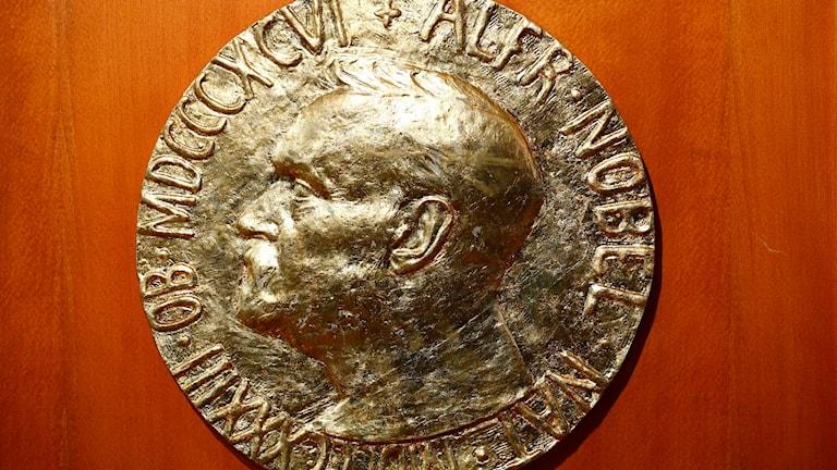 Nobels fredspris. Foto: TT