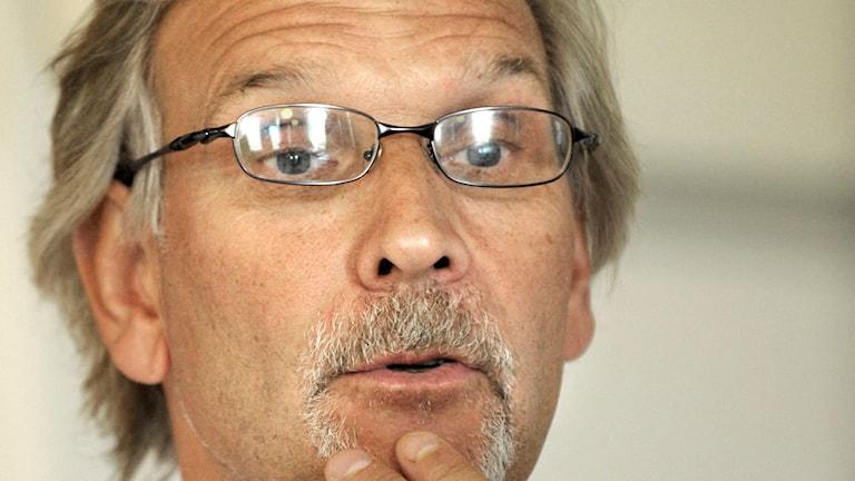 Ulf Schefvert som är tränare för HIF Karlskrona. Maja Suslin / TT