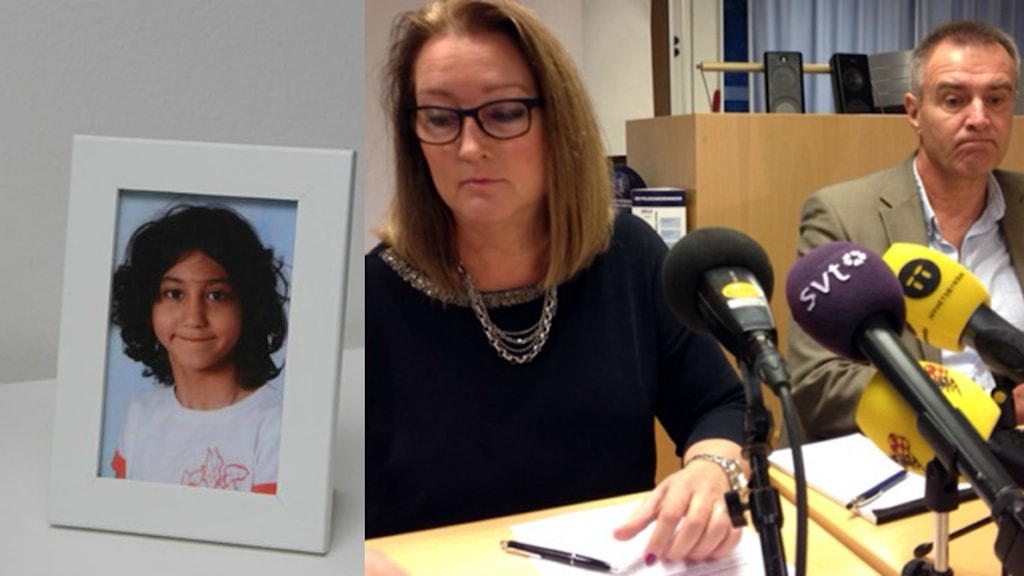 Pernilla Åström, åklagare och Mats Dahlen, polisens utredare. Fotot: Samuel Larsson/Sveriges Radio