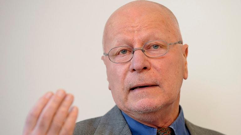 Före detta överåklagaren Sven-Erik Alhem. Foto: JONAS EKSTRÖMER / TT