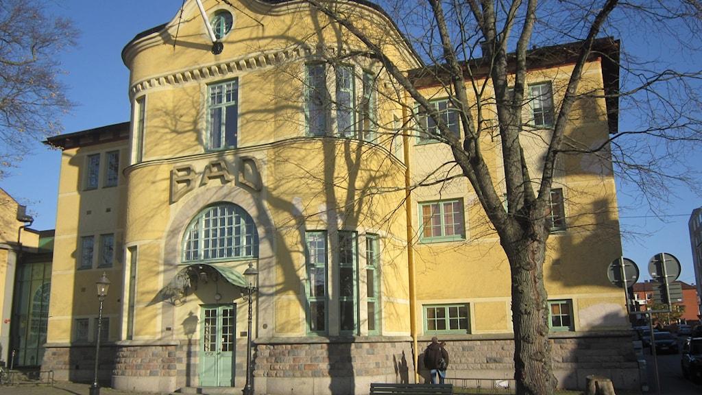 Varmbadhuset Karlskrona. Foto: Carina Melin/Sveriges Radio