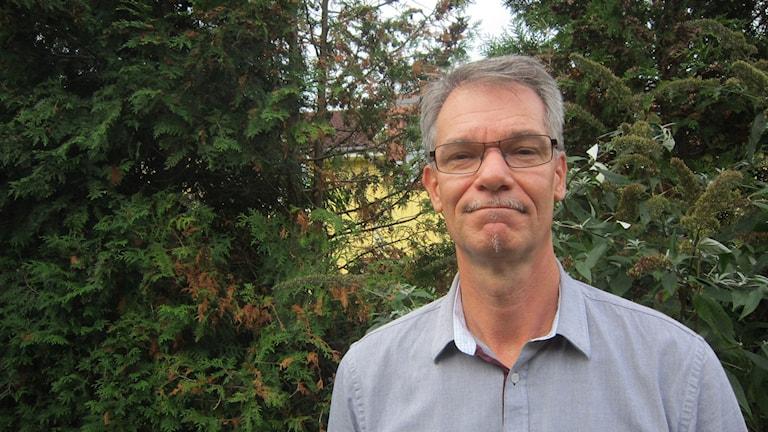 Mikael Jansson förhandlingschef Karlskrona. Foto: Carina Melin/Sveriges Radio