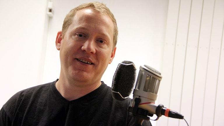 Mikael Engvall, NSPH, psykisk hälsa. Foto: Stina Linde/Sveriges Radio
