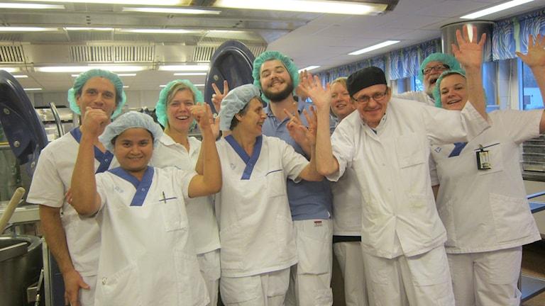 ekologisk mat köket Karlshamn blekingesjukhuset. Foto: Carina Melin/Sveriges Radio