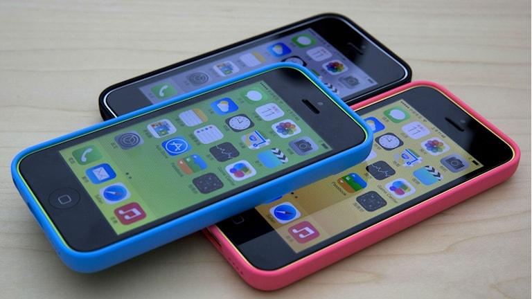 3 stycken iphone 5