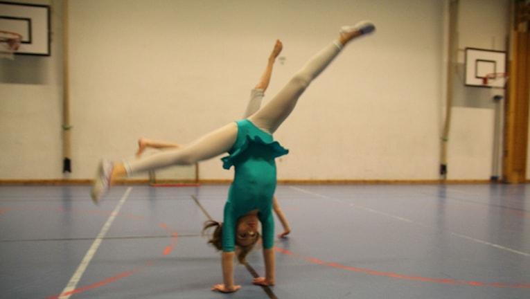 Gymnaster inom Karlskrona gymnastikförening. Foto: Monika Titor