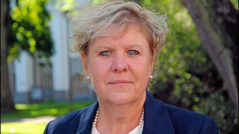Cecilia Grefve, nationell samordnare för den sociala barn-och ungdomsvården.