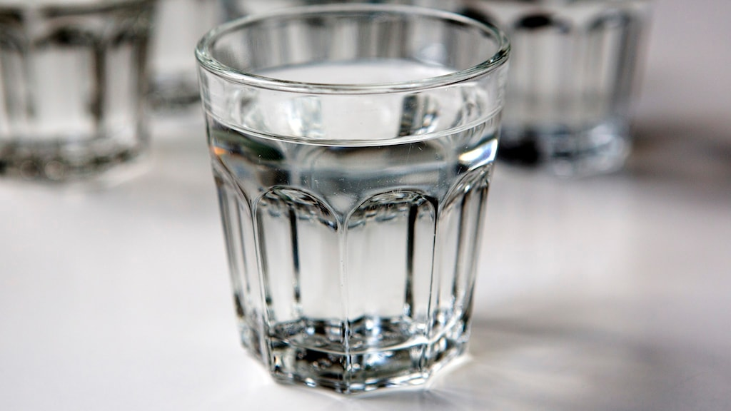 Ett glas med dricksvatten. Foto: Christine Olsson/TT.