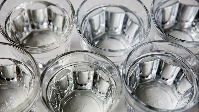 8 vattenglas