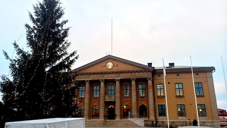 Tingsrätten i Blekinge sedd utifrån. Foto: Stina Linde/Sveriges Radio