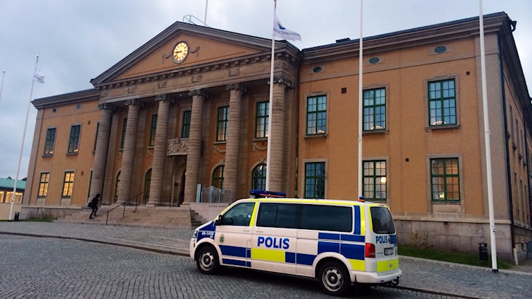 Blekinge tingsrätt. Foto: Stina Linde/Sveriges Radio