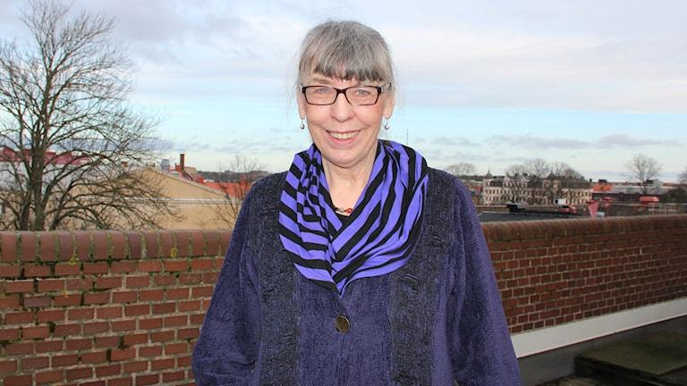 Margareta Skantze. Foto:Ingrid Elfstråhle/Sveriges Radio