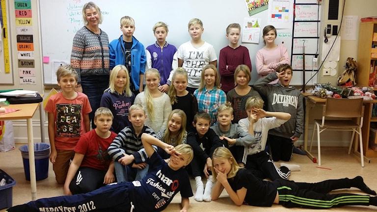 Möllebacksskolan 5C Sölvesborg. Foto:Privat