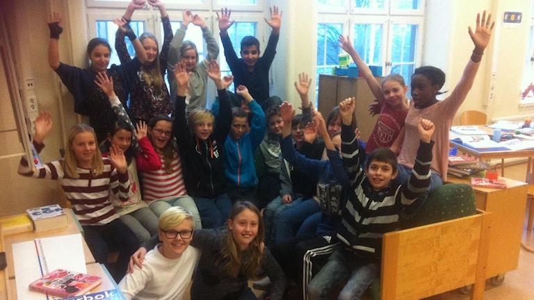 Bodetorpsskolan 5A Karlshamn. Foto:Privat