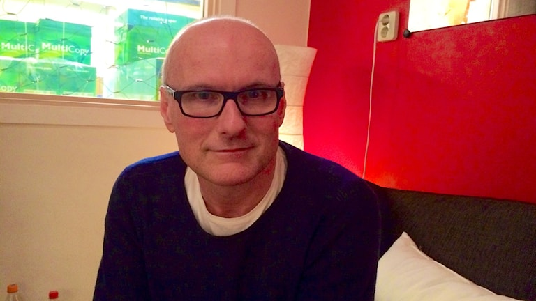 Pascal Deraed bor sen 25 år i Sverige.