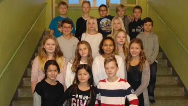 Möllebacksskolan 5D. Foto. Privat