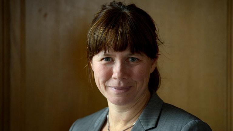 Åsa Romson, Miljöpartiet.  Foto: Janerik Henriksson / TT