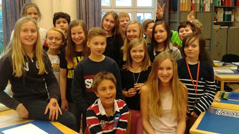 Bodestorpsskolan klass 5B, karlshamn. Fotot:Privat