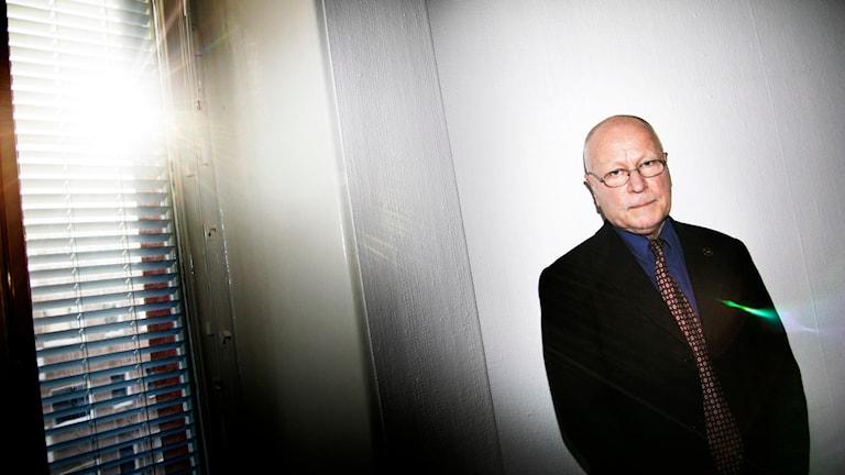 Före detta överåklagaren Sven-Erik Alhem. Foto: Oskar Kullander/TT