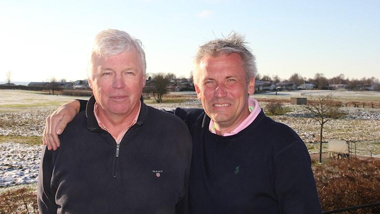 Jan-Erik Andersson och Patrik Trydefeldt. Foto: Mikael Eriksson/Sveriges Radio
