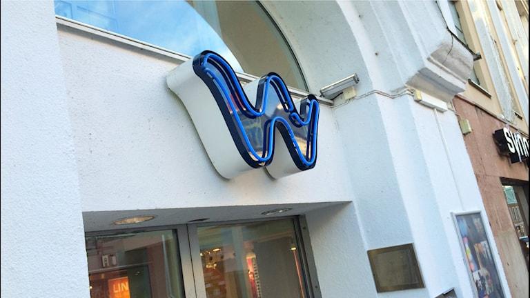 En 51-årig man åtalas för inbrott i butiken Flash i gallerian Wachtmeister i mitten av januari. Foto: Martin Arvebro/Sveriges Radio