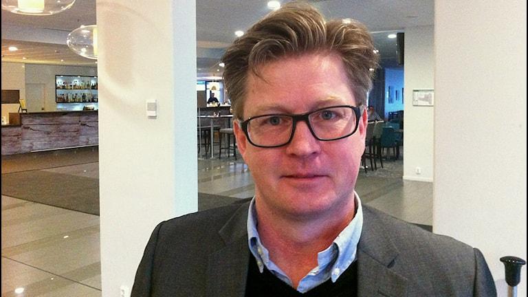 Hotelldirektör Ola Johansson. Foto: Mikael Eriksson/Sveriges Radio