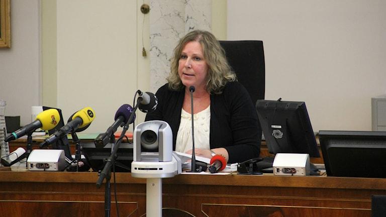 Laila Kirppu. Foto: Mikael Eriksson/Sveriges Radio