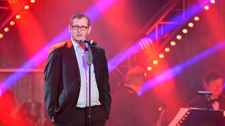 Årets Idrottsledare blev Torbjörn Karlsson, Karlskrona HK, KHK. Foto: Oscar Anderberg