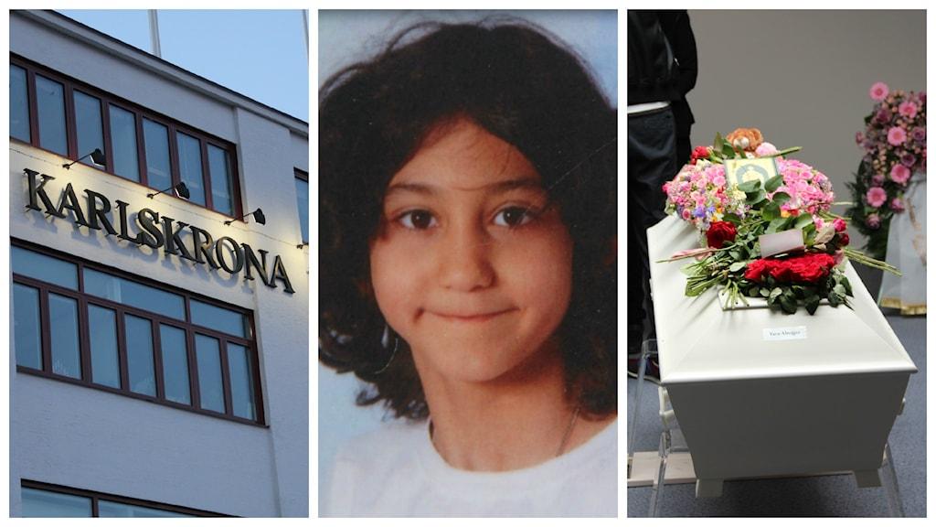 Ett collage med tre olika bilder. Foto: Rebecka Gyllin/Andrea Jilder/Sveriges Radio