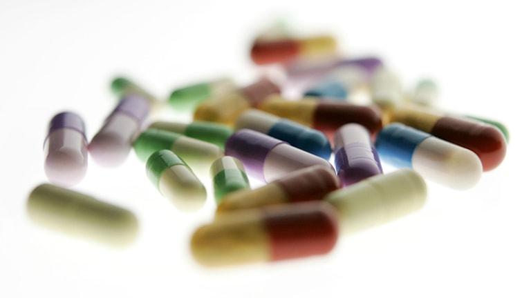 tabletter och kapslar Foto: Henrik Montgomery/TT