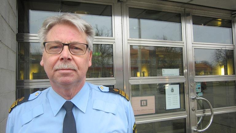 Ingmar Harrysson chef utredning polisen Blekinge. Foto: Carina Melin/Sveriges Radio