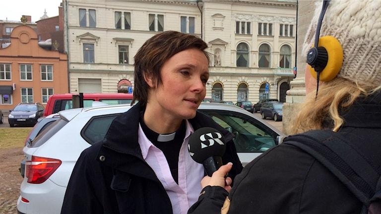 Prästen Johanna Juhlin