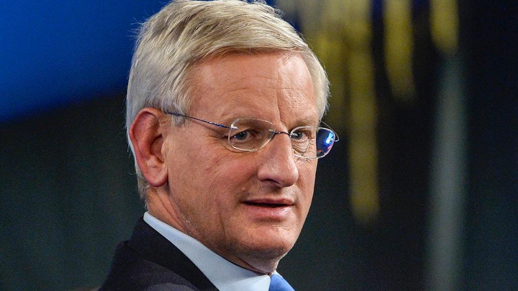 Carl Bildt. Photo:Claudio Bresciani/TT
