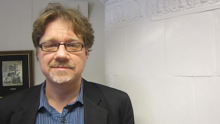 Magnus Larsson (C)kommunalråd i Karlskrona kommun. Foto: Carina Melin/Sveriges Radio