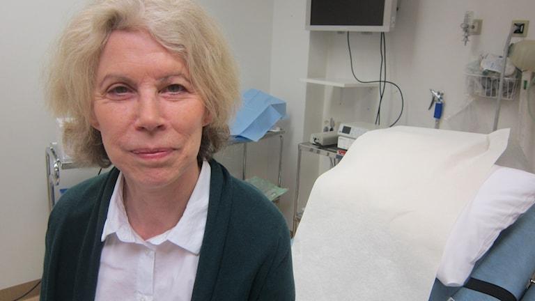 Bodil Ehn mödrahälsovårdsöverläkare landstinget Blekinge. Foto: Carina Melin/Sveriges Radio