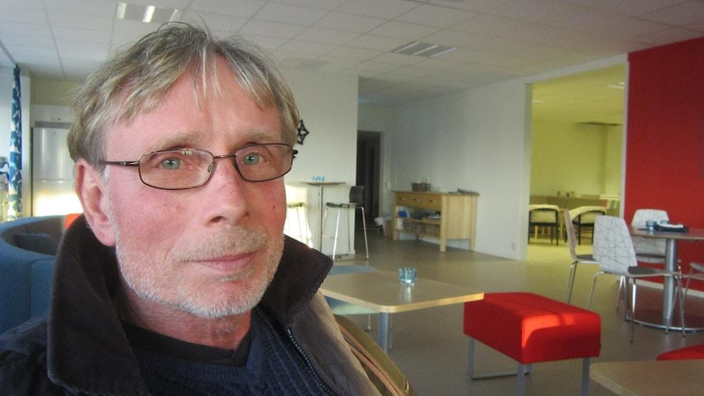 Björn Fries (V) socialnämnden Karlskrona. Foto: Carina Melin/Sveriges Radio