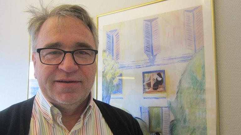Peter Johansson ordförande drifts- och servicenämnden Karlskrona. Foto: Carina Melin/Sveriges Radio