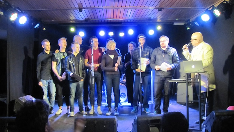 Radiopriset delas ut till Hildur Höglind, DragoDee och Crossroad. Tre akter som i vår får åka på turné i länet.