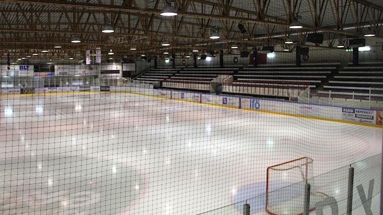 Ishockeyrinken i Jössarinken. Foto: Linn Elmstedt/Sveriges Radio