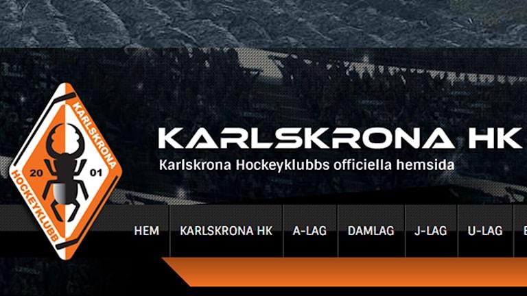 Skärmdump från KHK:s hemsida. Foto: Skärmdump