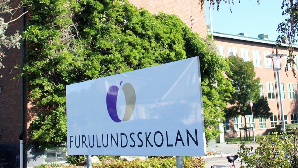 Furulundskolan. Foto:Sveriges Radio