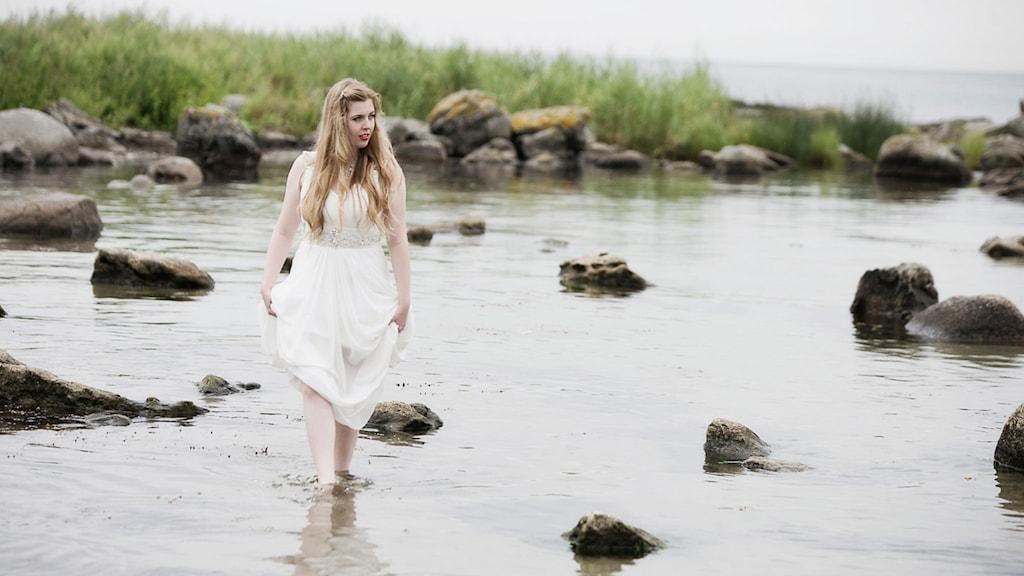 Erika Hansson. Foto: Johan Lindvall