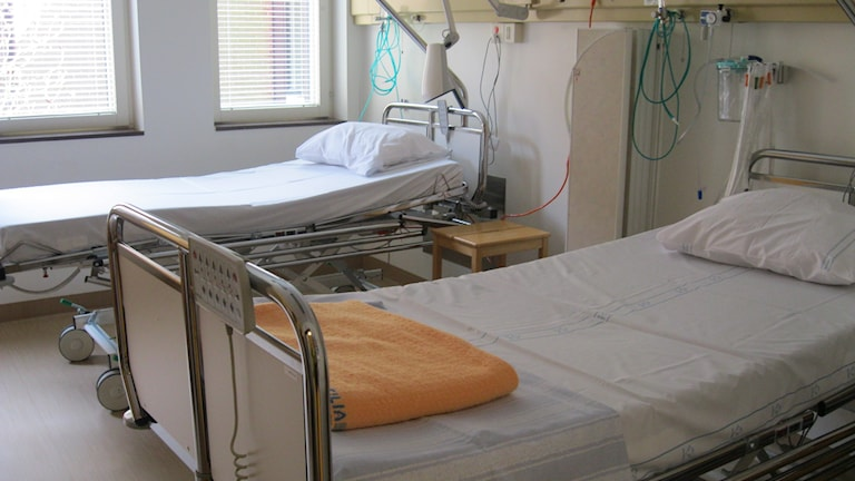 landstinget blekingesjukhuset sjukhussal. Foto: Carina Melin/Sveriges Radio