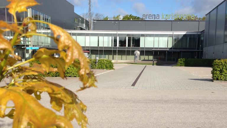 Arena Karlskrona, Foto: Johan Svensson/Sveriges Radio
