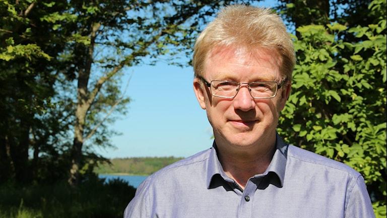 Lyckeby BTK:s ordförande Jörgen Kjellsson. Foto: Mikael Eriksson/Sveriges Radio